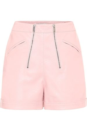 Stella McCartney Faux leather shorts