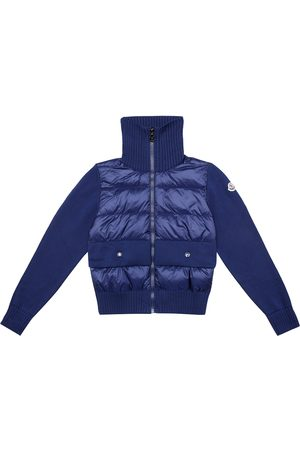 Moncler Down and cotton jacket