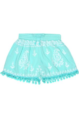 Melissa Odabash Baby Sienna embroidered shorts