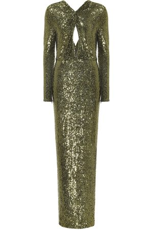 Dundas Sequined gown