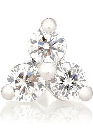 Maria Tash Trinity Large 18kt white-gold single earring with diamonds