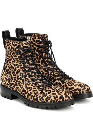 Jimmy choo Cruz Flat calf hair ankle boots