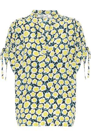 Diane von Furstenberg Grania floral silk blouse