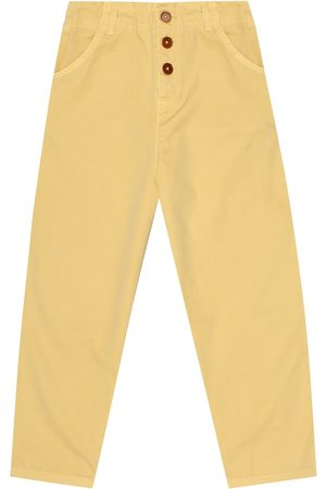 Caramel Carnaby cotton pants