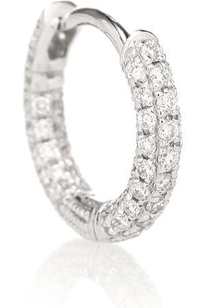 Maria Tash 18kt white-gold single earring with diamonds