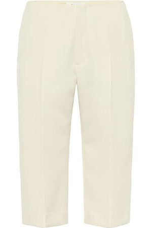 Maison Margiela High-rise slim twill shorts