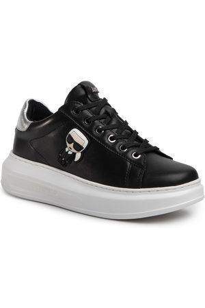 Karl Lagerfeld Sneakersy - KL62530 Black Lthr