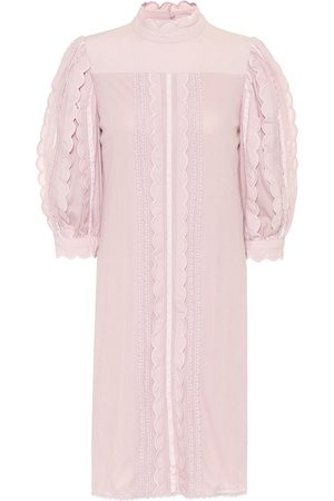 See by Chloé Cotton-lace dress
