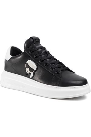 Karl Lagerfeld Sneakersy - KL52530 Black Lthr