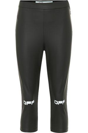 OFF-WHITE Logo performance leggings