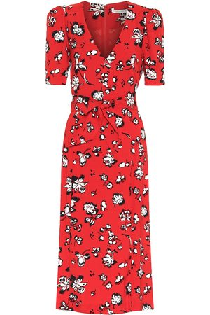 VERONICA BEARD Joia floral midi dress