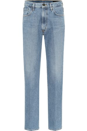 Goldsign Nineties high-rise straight jeans