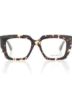 Bottega Veneta D-frame acetate glasses