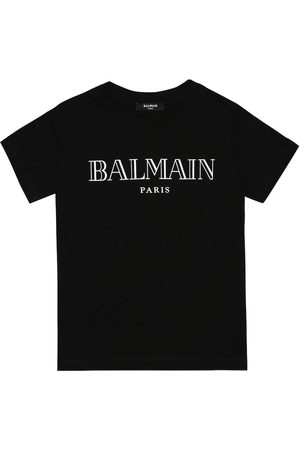 Balmain Logo cotton-jersey T-shirt
