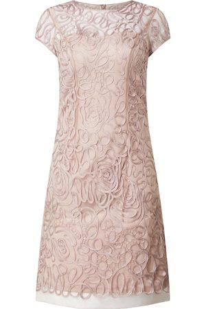 Luxuar Sukienka koktajlowa z siateczki