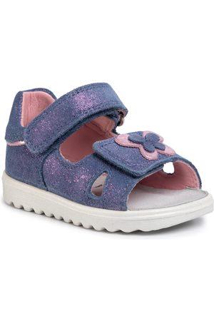 Superfit Sandały - 6-00015-80 Blau/Rosa