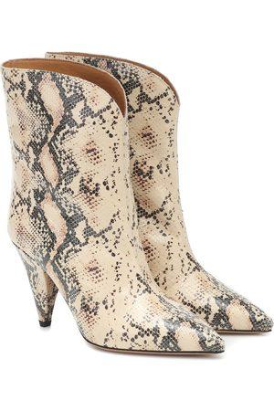 Isabel Marant Kobieta Botki - Leinee leather ankle boots