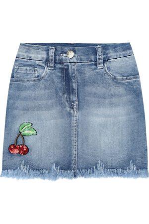 Monnalisa Dziewczynka Spódnice jeansowe - Denim miniskirt