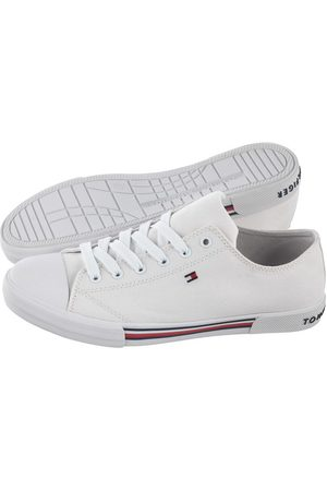 Tommy Hilfiger Buty Low Cut Lace-Up Sneaker T3X4-30692-0890 100 White (TH79-a)