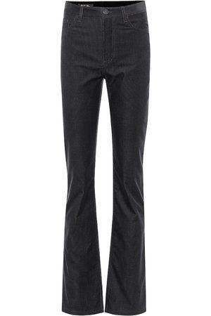 Loro Piana Kobieta Spodnie z szeroką nogawką - Rodger high-rise flared corduroy pants