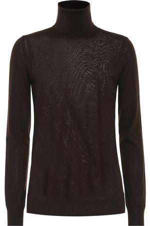 Loro Piana Kobieta Golfy - Piuma cashmere turtleneck sweater
