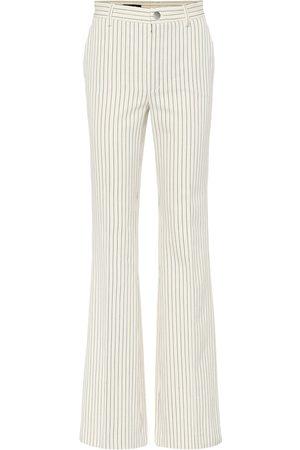 Loro Piana Roan pinstriped cotton pants
