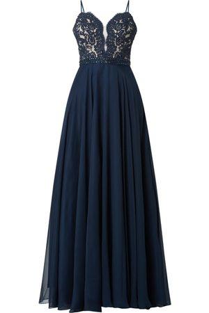 Luxuar Sukienka wieczorowa z ozdobnymi kamieniami