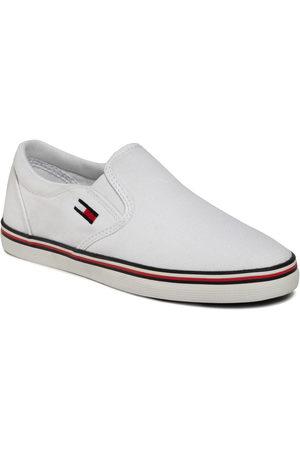 Tommy Hilfiger Tenisówki - Essential Slip On Sneaker EN0EN00782 White YBS