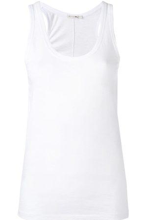 Rag & Bone Kobieta Tank topy - White