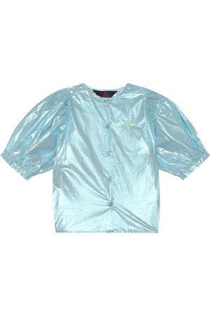 The Animals Observatory Dziewczynka Koszule - Hawk cotton shirt