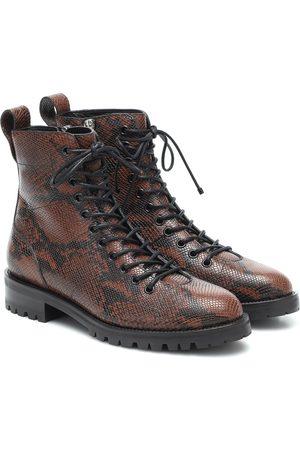 Jimmy Choo X KAIA K-Cruz leather ankle boots