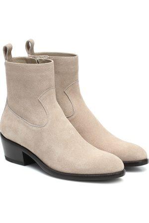 Jimmy Choo X KAIA K-Jesse suede ankle boots