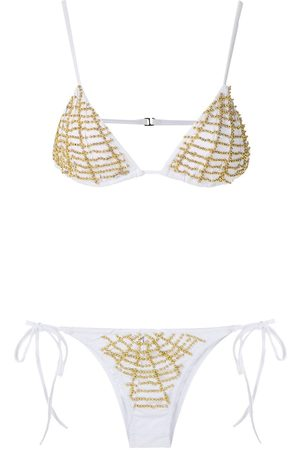 AMIR SLAMA Kobieta Bikini - White