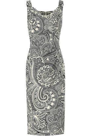 Max Mara Verusca printed cotton dress