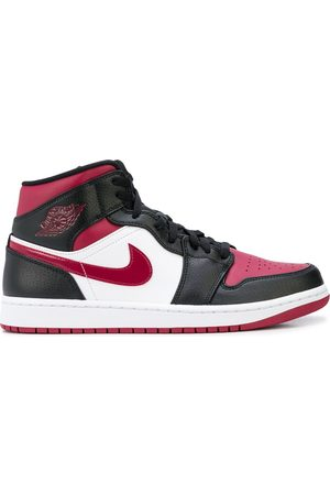 "Jordan Air 1 Mid ""Bred Toe"" sneakers"