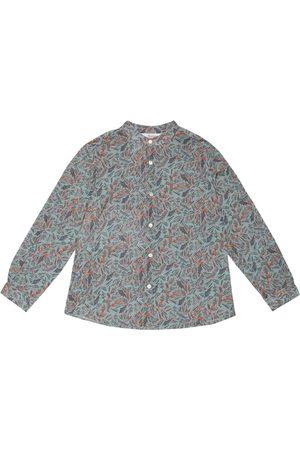 BONPOINT Dziewczynka Koszule - Eugene printed cotton shirt