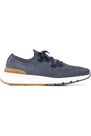 Brunello Cucinelli Mężczyzna Sneakersy - Blue