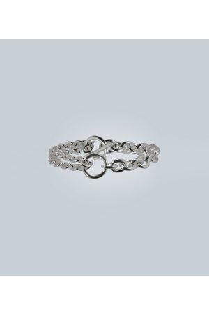 ALL BLUES Double sterling silver bracelet