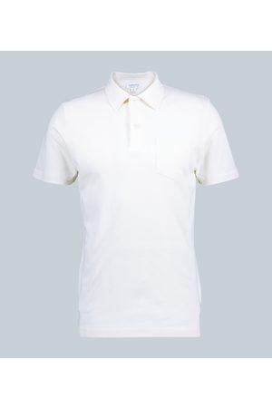 Sunspel Kobieta Koszulki polo - Cotton-mesh polo shirt