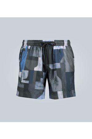 Commas Kobieta Kąpielówki - Printed swim shorts