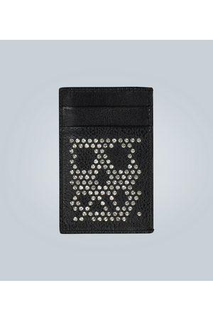Alexander McQueen Portmonetki i Portfele - Studded Skull cardholder