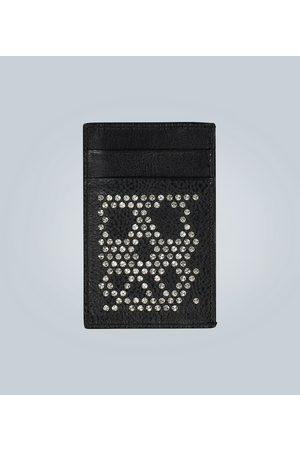Alexander McQueen Studded leather card holder
