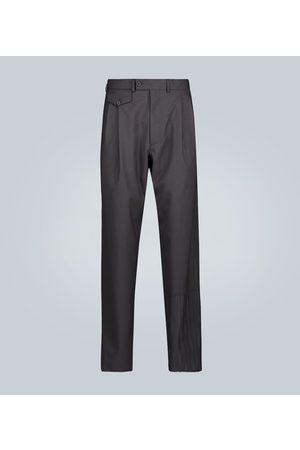 Rochas Kobieta Spodnie eleganckie - Double-pleated wool pants