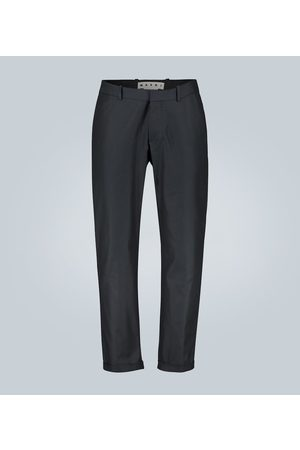 Marni Kobieta Spodnie eleganckie - Compact cotton twill pants