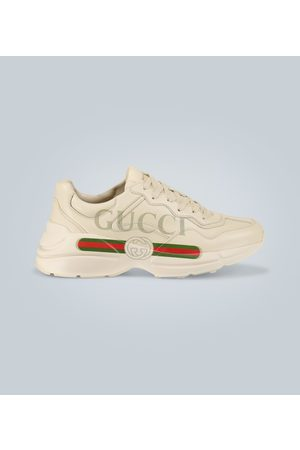 Gucci Sneakersy - Rhyton leather sneakers
