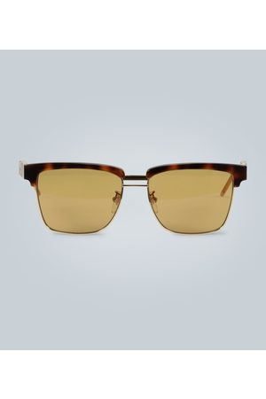 Gucci Kobieta Okulary przeciwsłoneczne - Sunglasses with square acetate frame