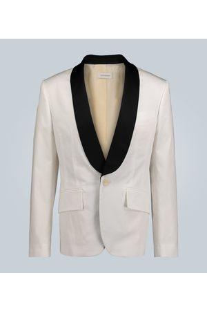 WALES BONNER Kobieta Kurtki - Stretch-cotton tuxedo jacket