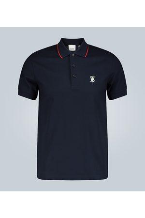 Burberry Kobieta Koszulki polo - Cotton pique polo shirt