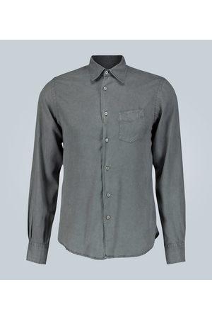 Officine Générale Benoit regular-fit washed twill shirt