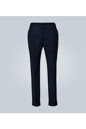 Officine Générale Pleated cotton pants